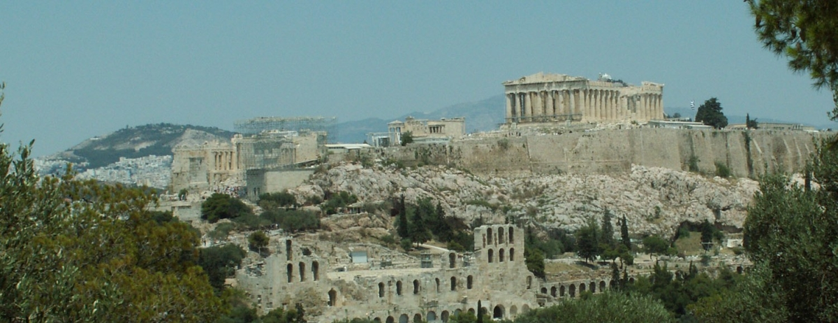 Panorama of the Acropolis (Athens, Greece)